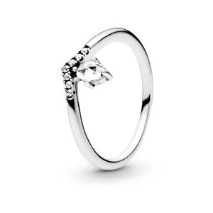 925 Sterling Silver Droplet Ring